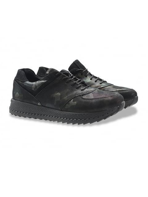 Кросівки чорні LeoModa 5213057