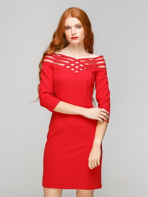 Сукня червона SassofonoClub 5208322