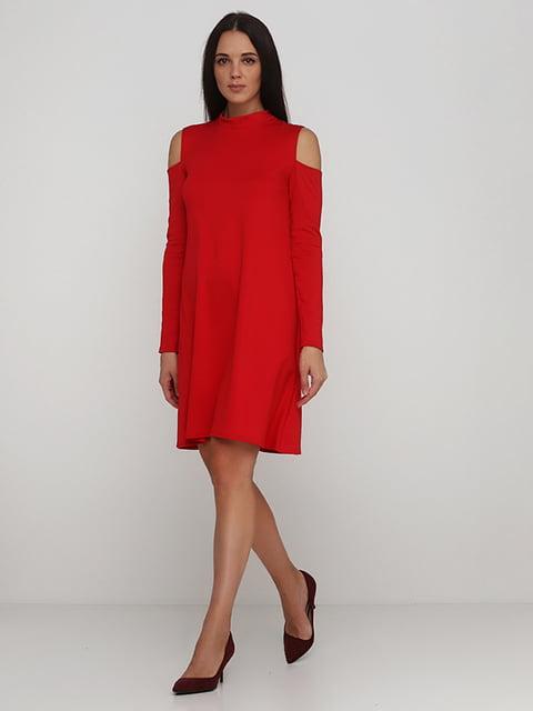 Платье красное Podium 5214340