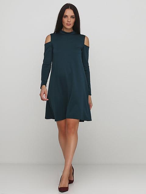 Платье изумрудного цвета Podium 5214342