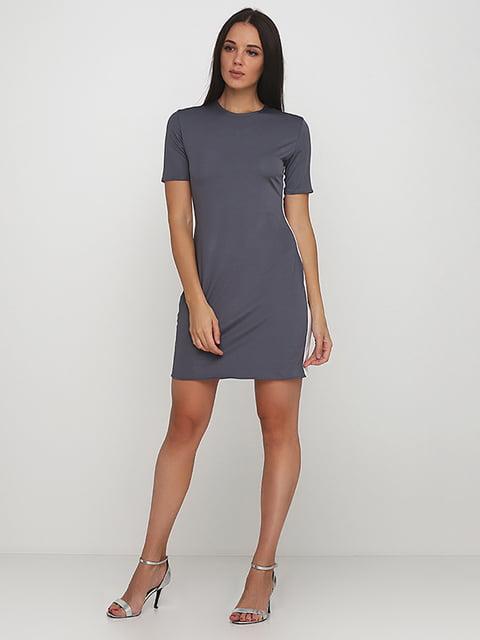 Платье серое Podium 5214381