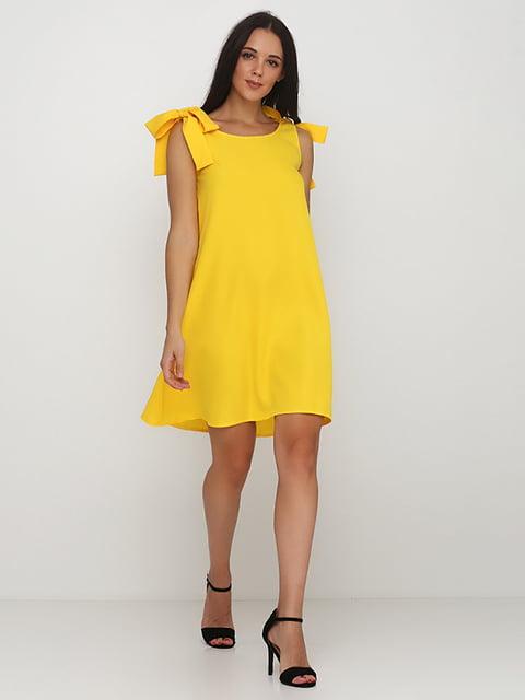 Платье желтое Podium 5214387