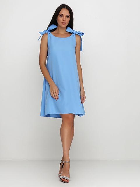 Платье голубое Podium 5214392