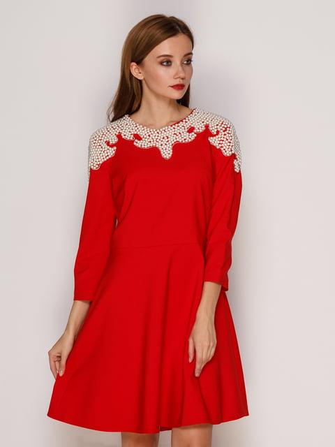 Сукня червона SassofonoClub 5208414