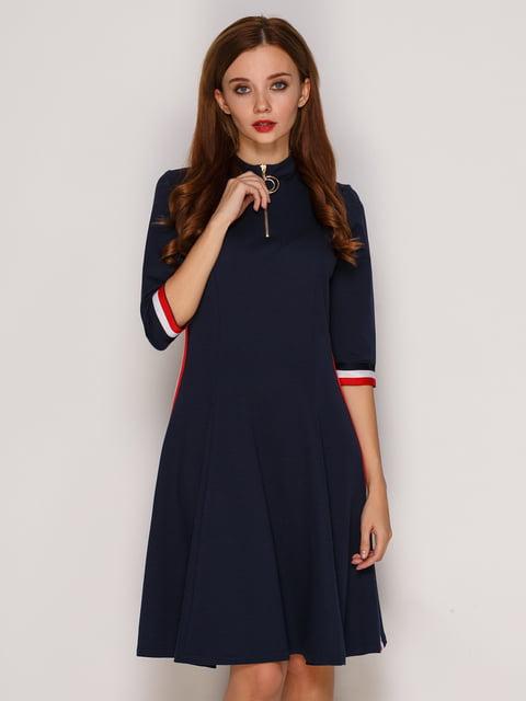 Платье темно-синего цвета SassofonoClub 5206135