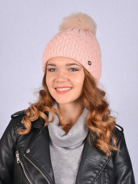 Шапка рожева Fashion Look 5215189