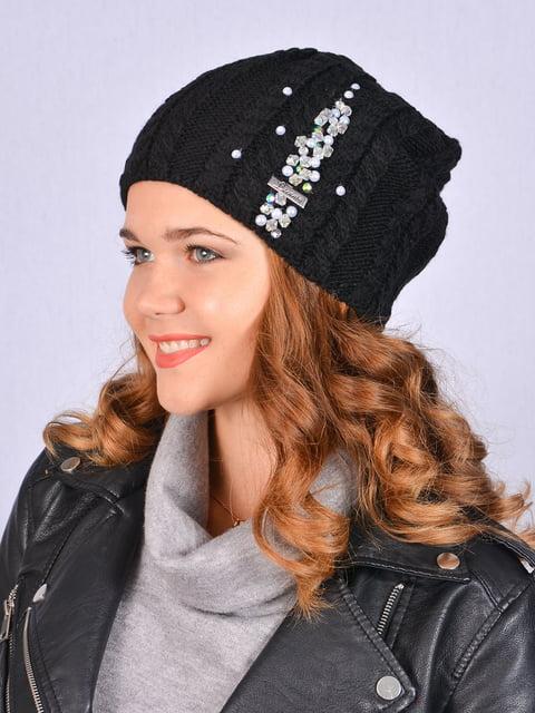 Шапка черная Fashion Look 5215223