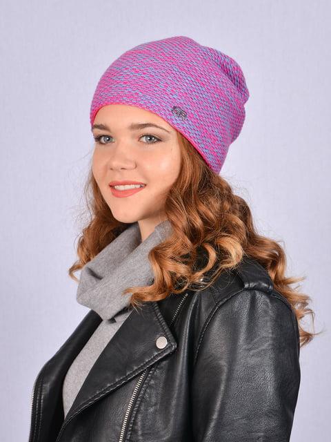 Шапка рожева Fashion Look 5215233