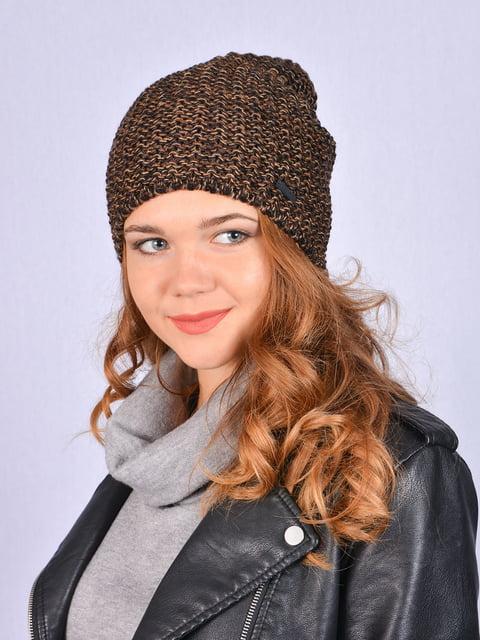 Шапка коричнева Fashion Look 5215235