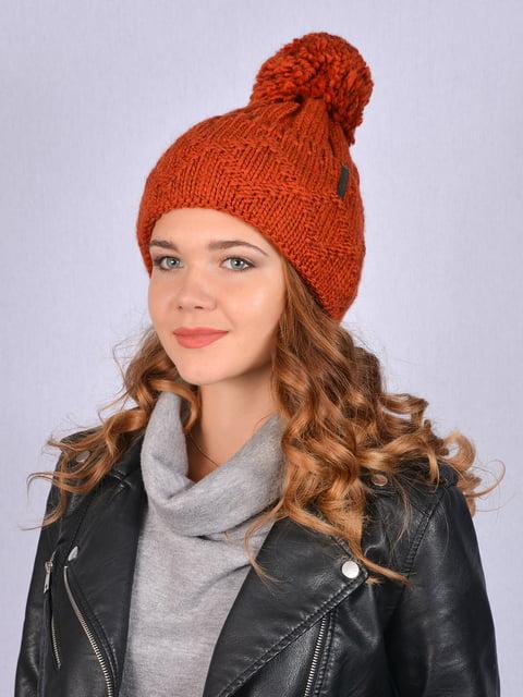 Шапка помаранчева Fashion Look 5215253
