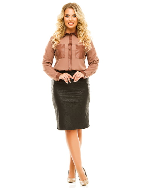 Блуза бежева Exclusive. 5215510