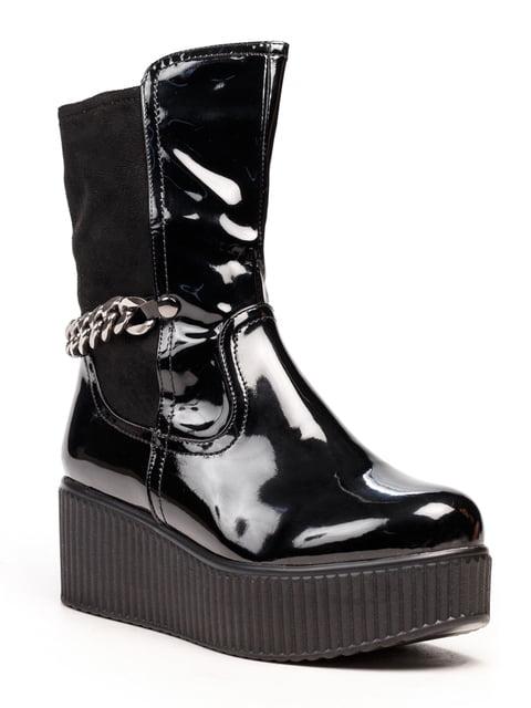 Черевики чорні Leona 5212519