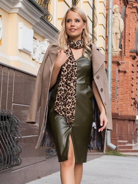Сукня кольору хакі Modus 5203429