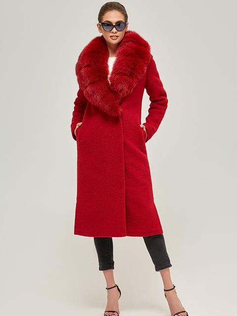 Пальто бордове Mila Nova 5216060