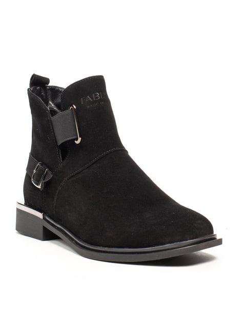 Ботинки черные Fabiani 5213535