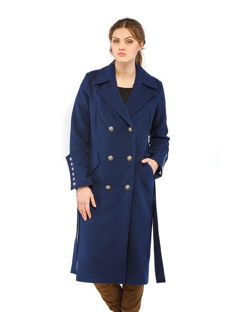Пальто синє Mila Nova 5216165