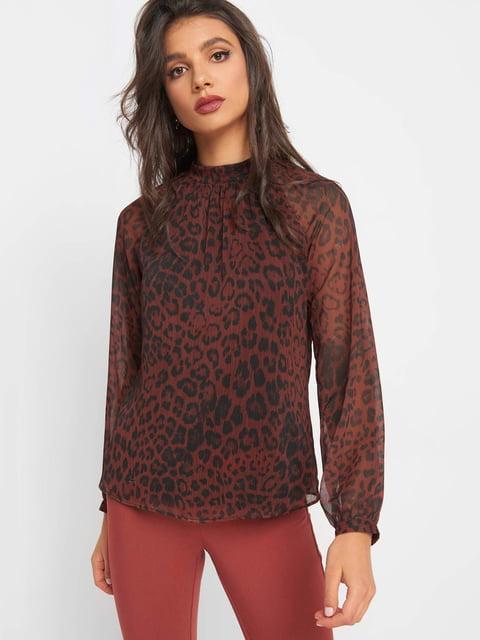 Блуза коричнева Orsay 5217560