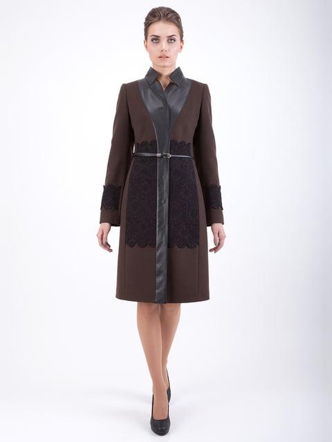 Пальто коричневе CORRERA 5217470