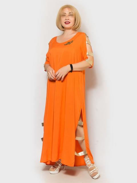 Платье оранжевое LibeAmore 5217621