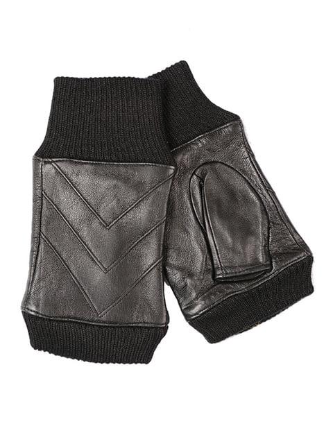 Мітенки чорні Fashion Look 5218040