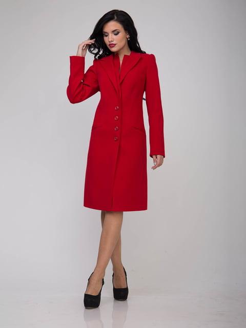 Пальто червоне Sergio Cotti 5218968
