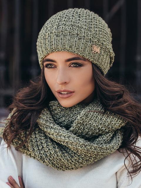 Комплект: шапка и шарф-снуд GUASH 5213593