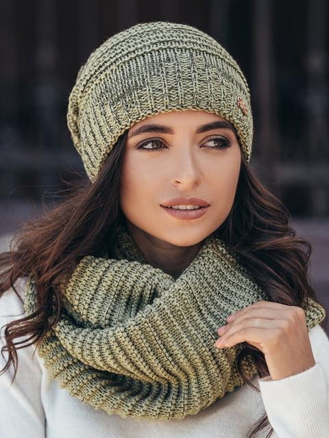 Комплект: шапка и шарф-снуд GUASH 5213595