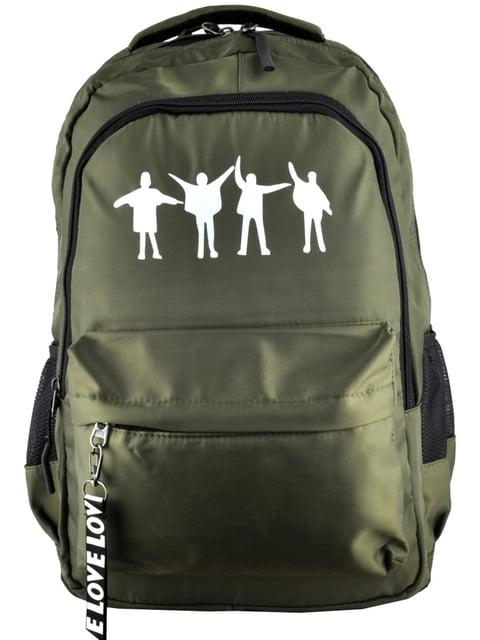 Рюкзак кольору хакі Luvete 5219450
