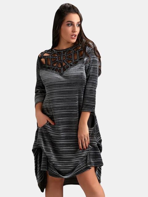 Платье серое LibeAmore 5219811