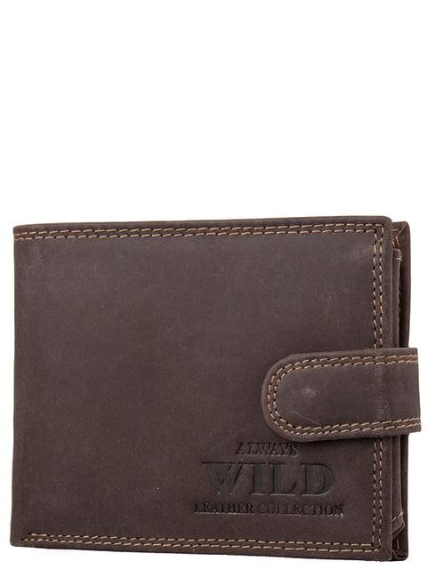 Гаманець коричневий ALWAYS WILD 5220629