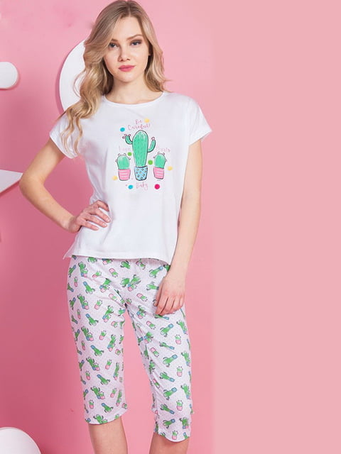 Пижама: футболка и бриджи Vienetta 5221006