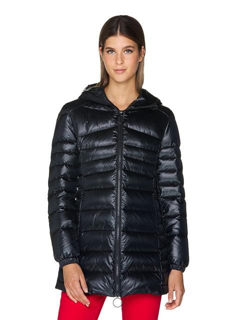 Куртка чорна Benetton 5211631