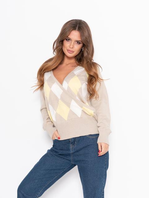 Пуловер бежевый Magnet 5222272