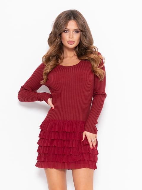 Платье бордовое Magnet 5222315