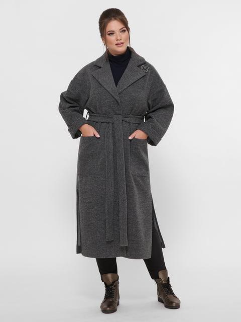 Пальто сіре VLAVI 5224202