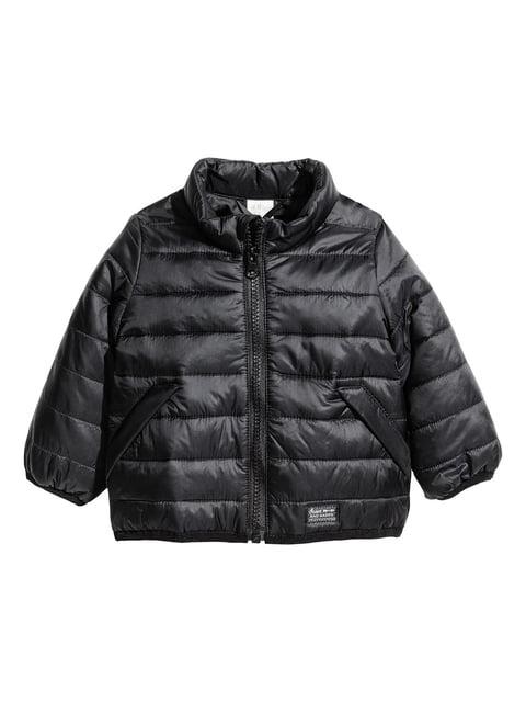 Куртка чорна H&M 5223639