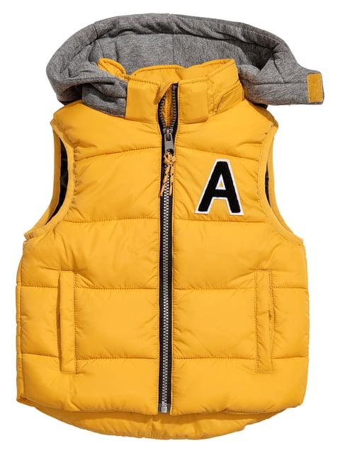 Жилет жовтий H&M 5223657