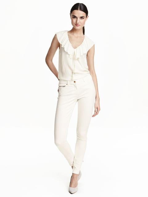 Джинсы белые H&M 5223766
