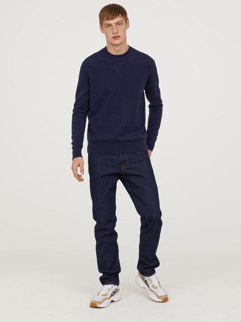 Джинсы темно-синие H&M 5223817