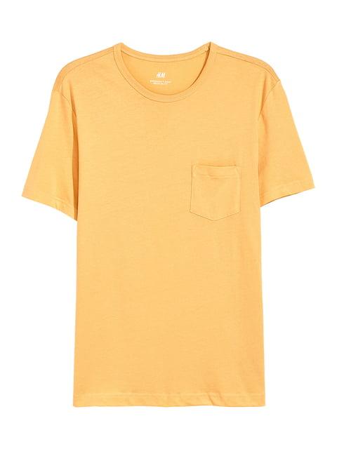 Футболка желтая H&M 5223828