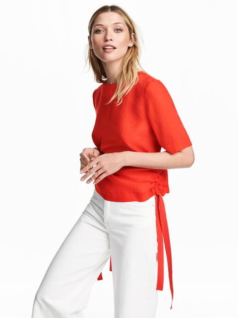 Блуза красная H&M 5223837