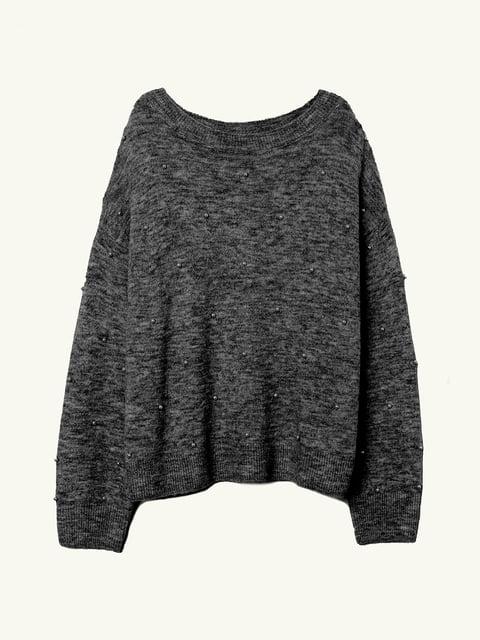 Джемпер темно-серый H&M 5223905