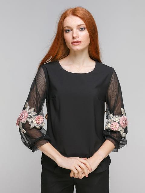 Блуза черная Zubrytskaya 5216659