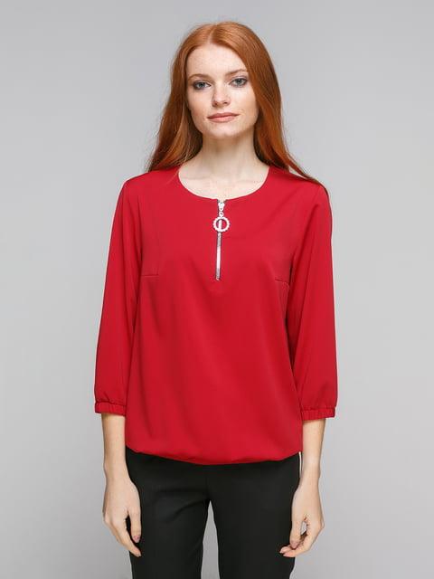 Блуза бордовая Zubrytskaya 5216648
