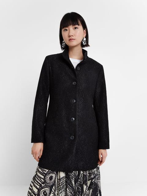 Пальто чорне Desigual 5203105