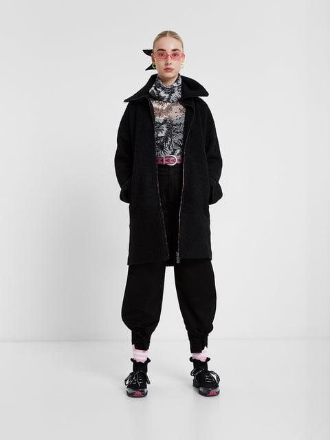 Пальто чорне Desigual 5203106