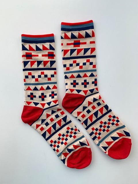 Шкарпетки з орнаментом Nettle 5225059