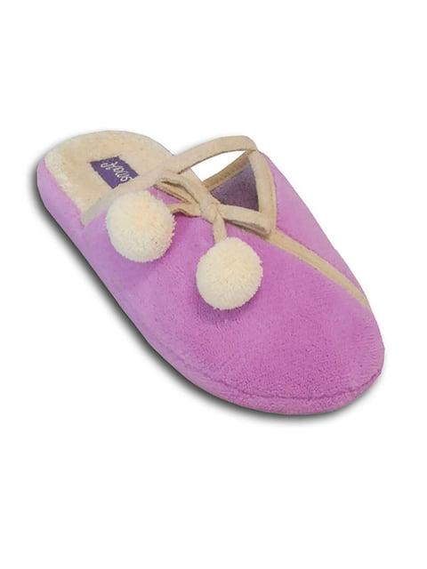 Тапочки пурпурные Home Story 5225323