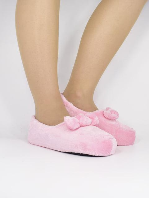 Тапочки розовые КОРОНА 5226691
