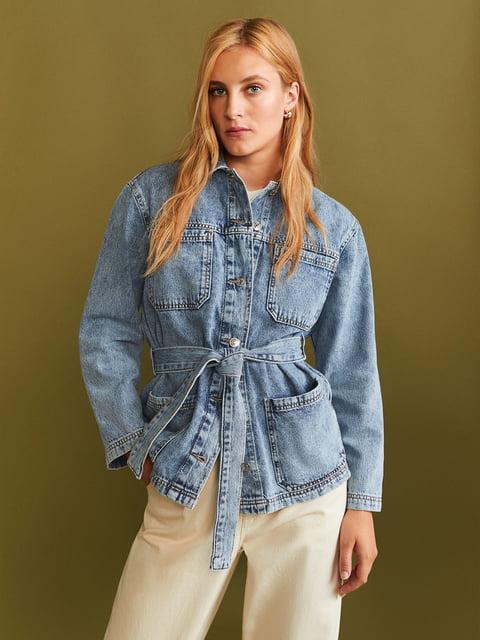 Куртка блакитна Mango 5188704
